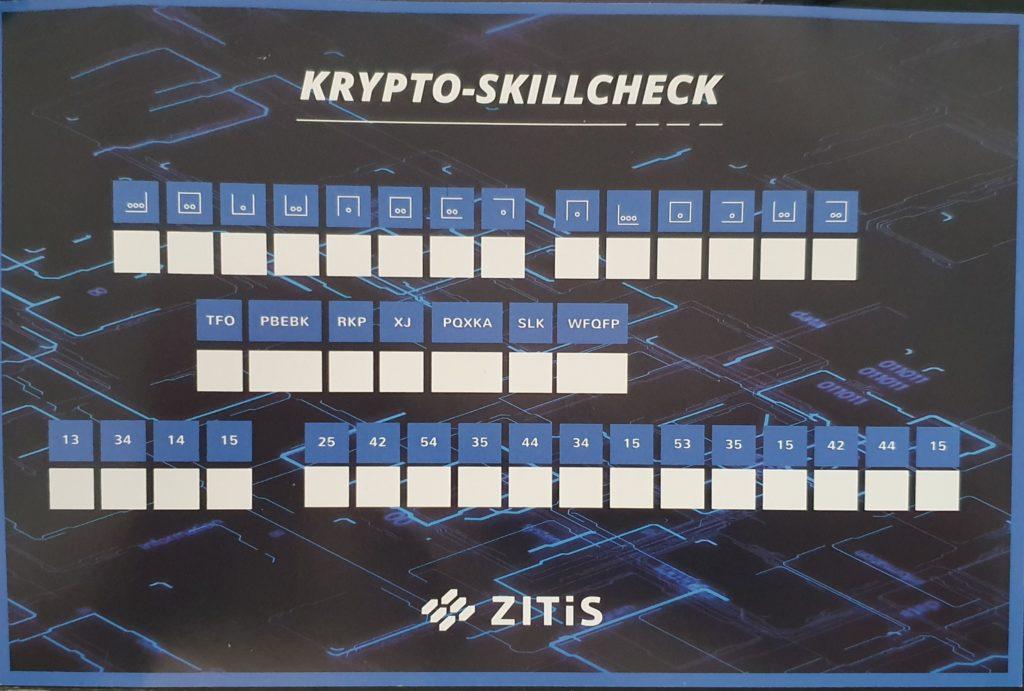 gamescom 2019: Zitis – Krypto Skillcheck