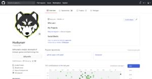 Github Secret – Profil Beschreibung anlegen